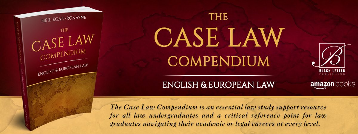 The Case Law Compendium: English & European Law
