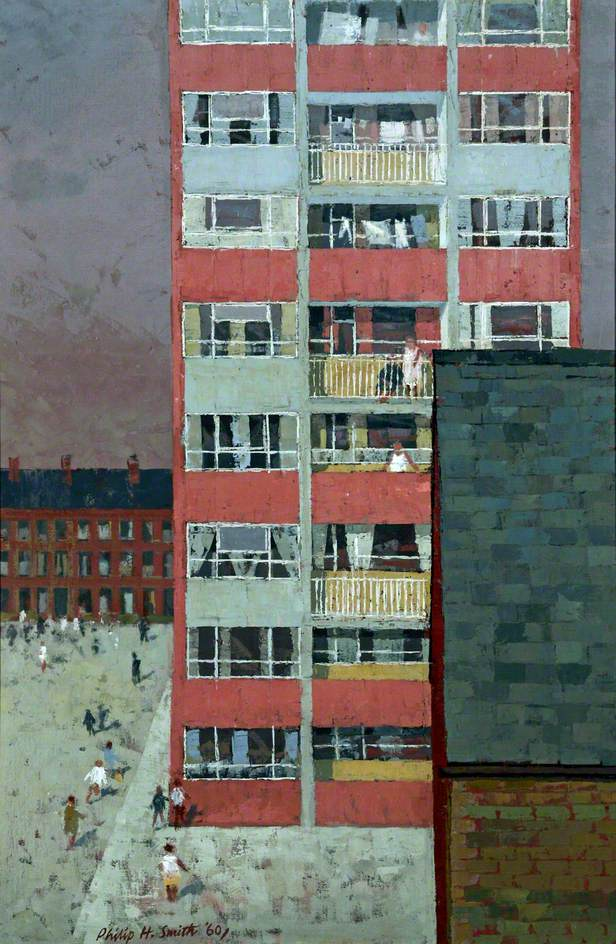Smith, Philip Henry, 1924-2008; Flats, 1960